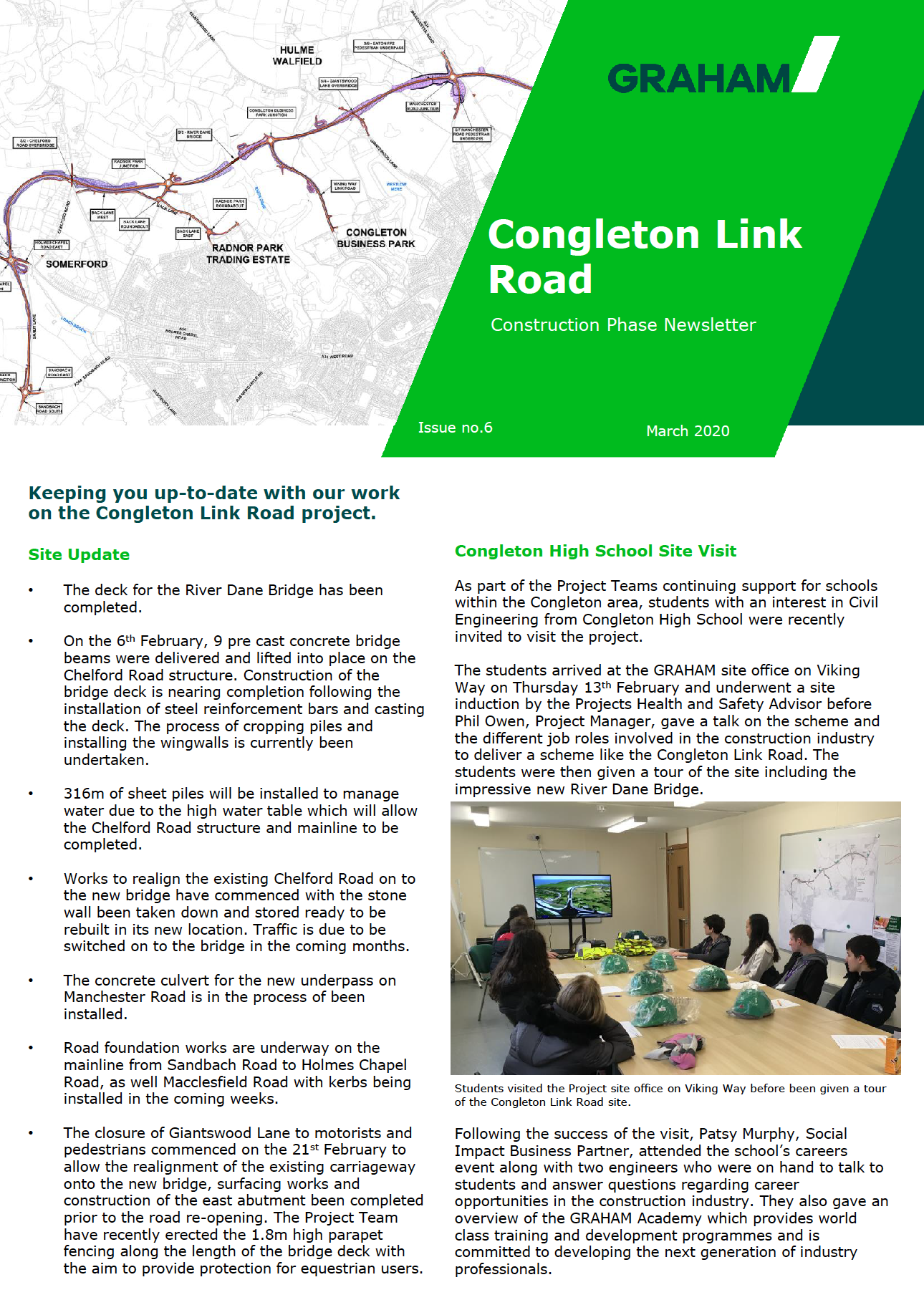 Congleton Link Road March Newsletter Page 1